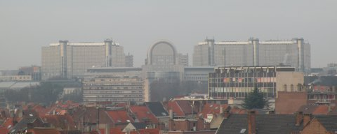 Guesthouse with splendid view on Brussels