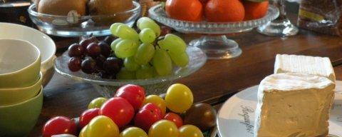 Chambres d'hôtes à Bruxelles et petit-déjeuner produits bio et fair-trade