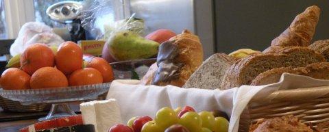 Gastenkamers Brussel ontbijt met biologische producten