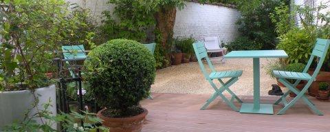 Maison d'hotes à Bruxelles jardin de ville