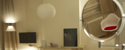 Kamer 1 met balkon, airco en lift