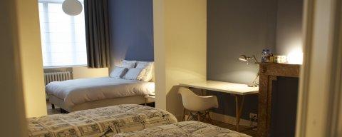 Familienzimmer in Brüssel Gasthaus,chambre familiale